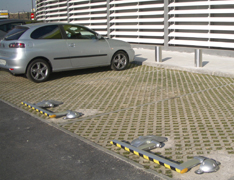 barreras automaticas autonomas parking