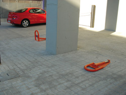barreras abatibles para parking automaticas