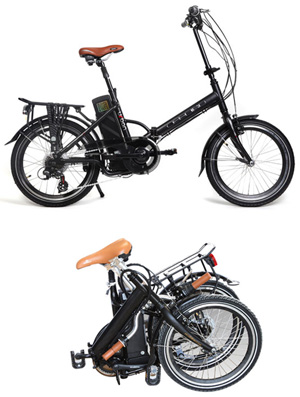 bicicleta electrica urban plegable