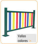 vallas metalicas colores